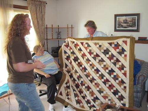 Pat's Karrie quilt along