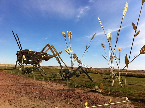 ND Enchanted Highway Grasshoppers 1