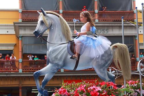 Little Girl on Big Horse