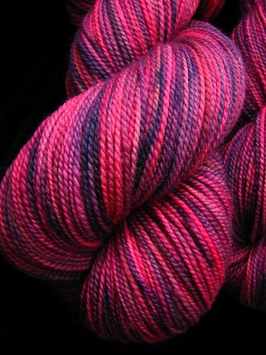 Pink Lady - Tiger Twist Hand Dyed Sock Yarn