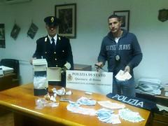 Roma: nascondevano droga dentro computer, polizia arresta padre e figlio