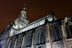 The High Kirk of Glasgow by Night