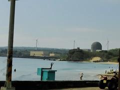 核三廠的風力發電機