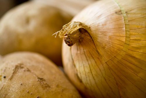 onion & taters