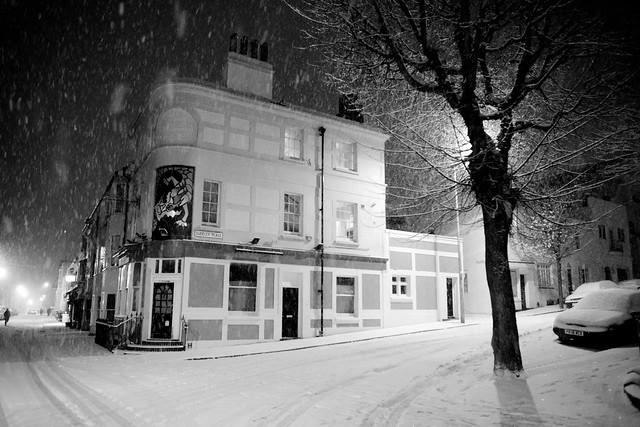 snow (by brighton standards)