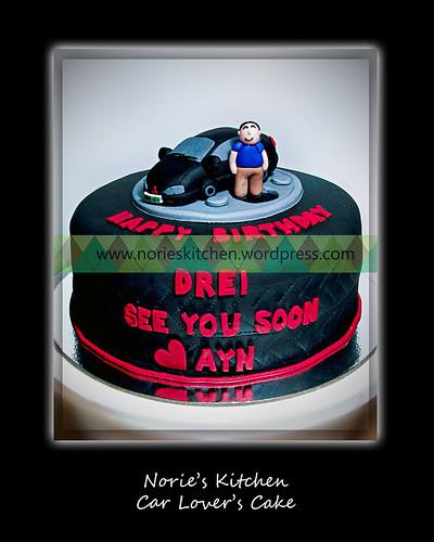 Norie's Kitchen - Car Lover's Cake