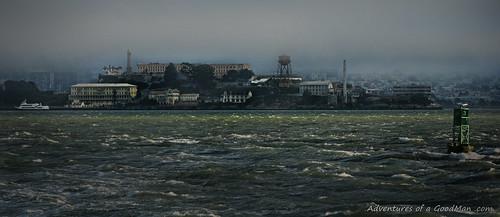 Leaving Alcatraz - Heading North