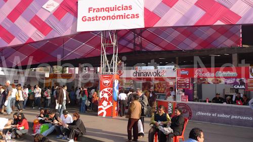 Zona de Franquicias - Mistura 2010
