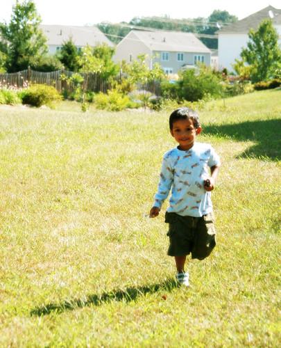 365-254 running in the grass