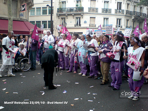 manifestation 23 septembre retraites