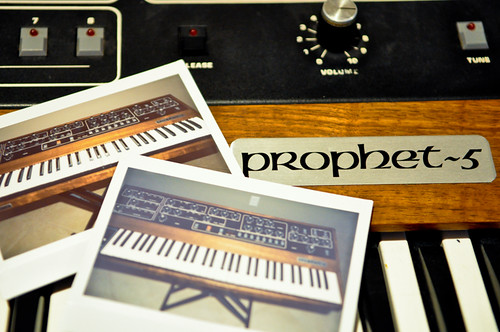 Prophet 5 Synthesizer