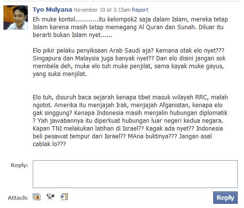 Tyo Mulyana lagi