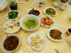 夜宿海生館 晚餐