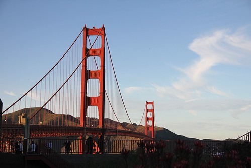 Golden gate of The Bay