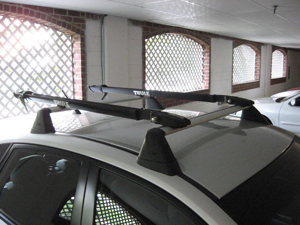 Thule Peloton 517 Install on Subaru OEM Roof Rack