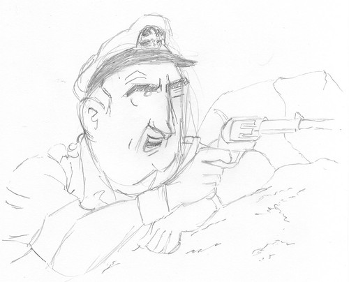 Copying some Tintin villain
