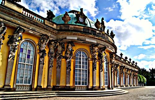 Face externa do Palácio Sanssouci