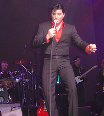 TRENT CARLINI- ELVIS IMPERSONATOR THE GREAT VOICE NUMBER 9