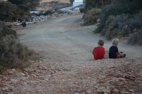 Naxos: Sitzstreik