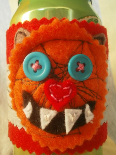 monster drink cozy