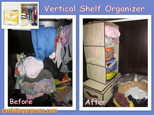 Vertical Shelf Organizer