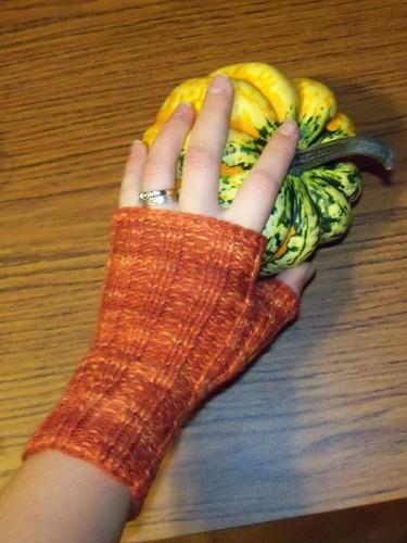 pumpkin glove
