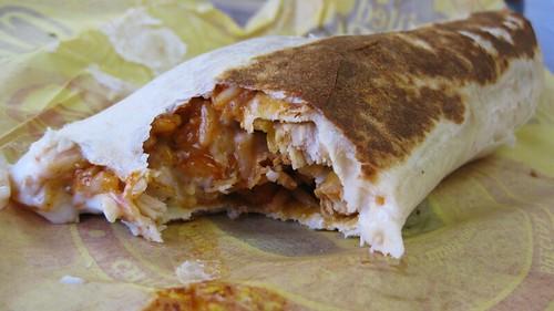 chicken enchilada grilled stuft burrito