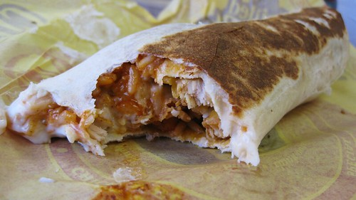 chicken enchilada grilled stuft burrito