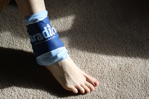 Paradice ice pack-ankle