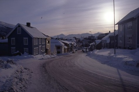 Tromsø high Street, Norway