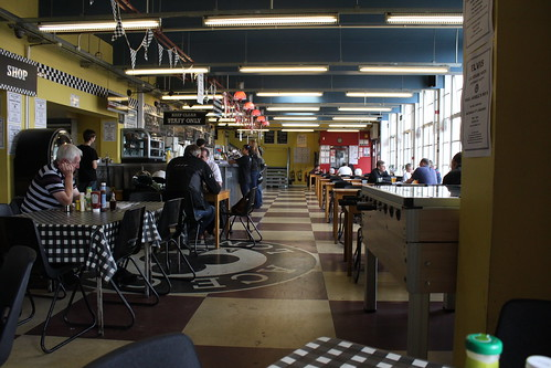 Inside the Ace Cafe