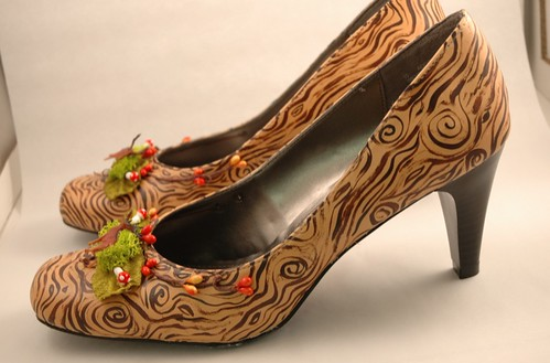 Woodland Fantasy shoes, profile
