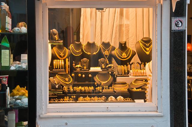 Shop on Santorini