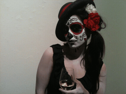 Day of the Dead photoshoot: Meli