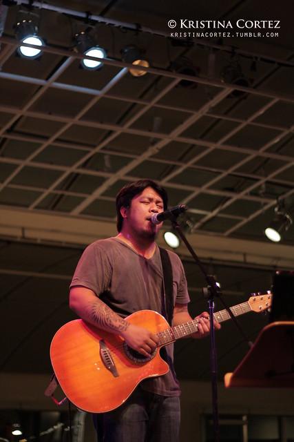 Carlos Castaño at Baybeats 2010