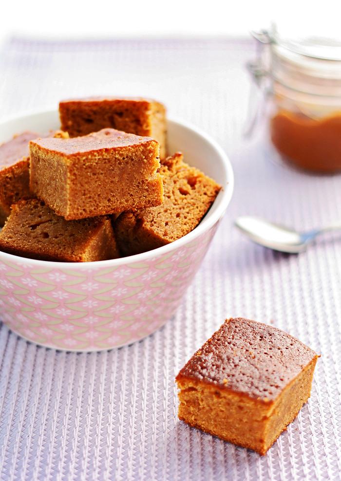 brownie de dulce de leche