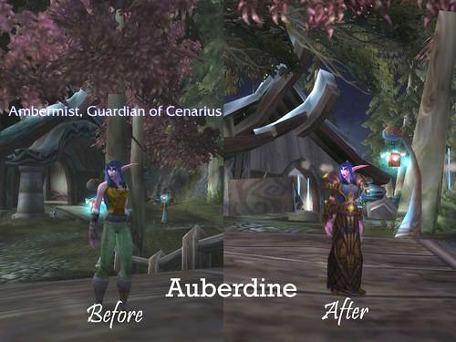 Auberdine - Before & After