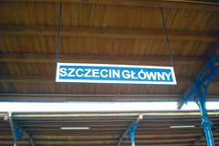 Szczecin Główny - Main station
