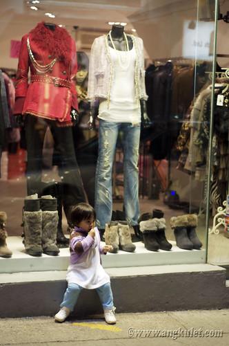 Lia in Central, HK 2010