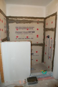 DIY Walk-In Shower: Step 3- Prep For Tile - Construction ...