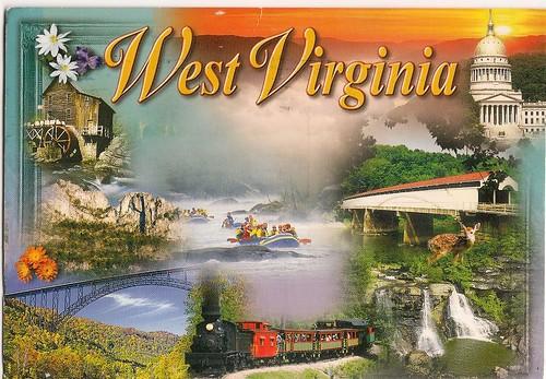 WV postcard