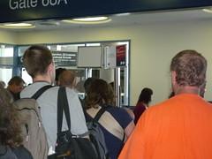 Mob Boarding 777 to Atlanta