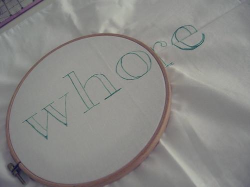 Whore: WIP Wednesday