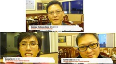 HK League of Social Democrats Party in Calgary (include video interviews) - 香港社民連到訪卡城 - 視像訪問陶君行﹑吳文遠﹑季詩傑