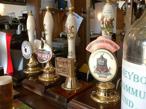 Pump clips at the Ship