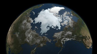 A Snapshot of Sea Ice - Photo : NASA