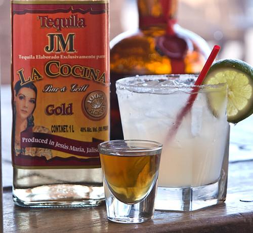Tequila-Cadillac Margarita