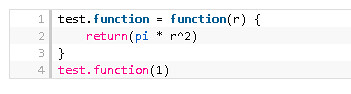 r syntax highlighted code example