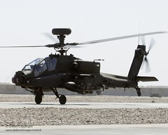 Apache Helicopter at Camp Bastion