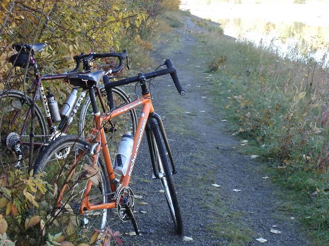 Cyclocross Bike Trail Ride